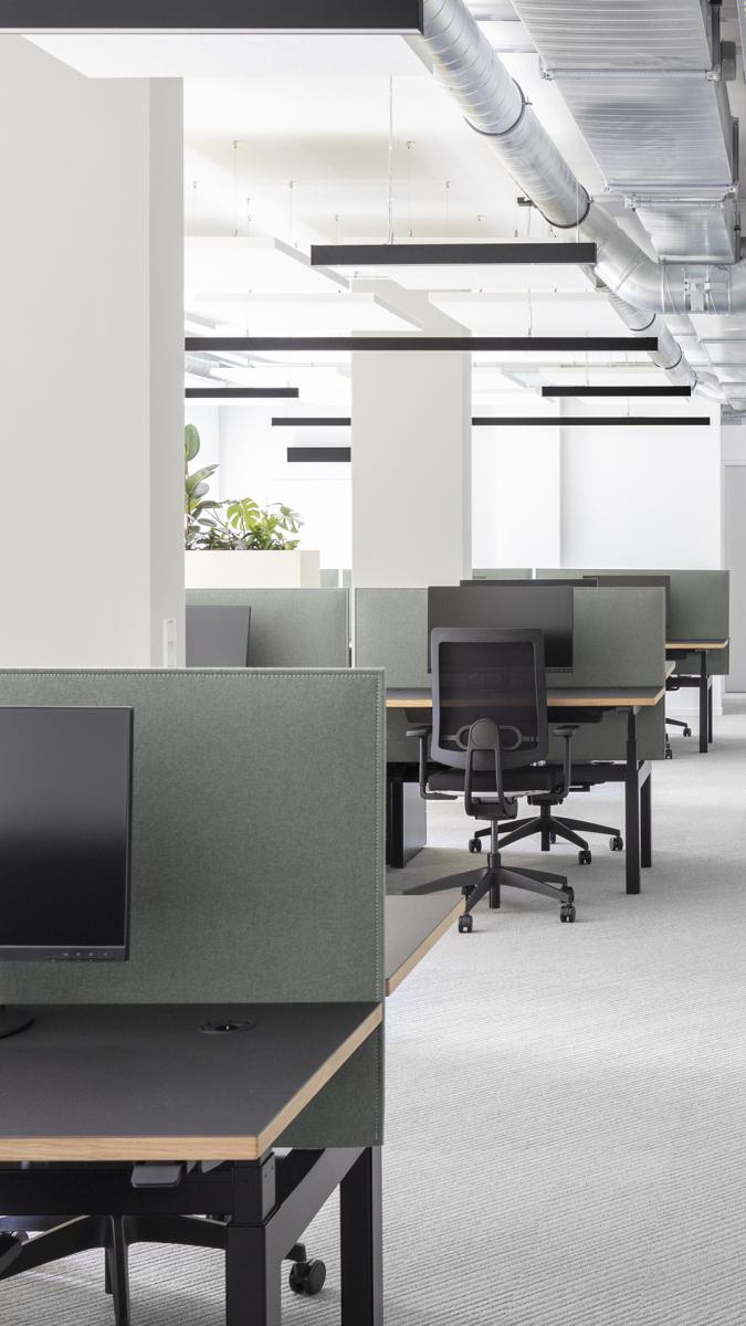 Fest zugewiesene Büros.  Foto: Andreas Meichsner