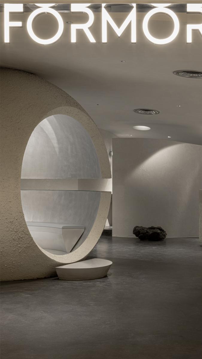 Eingangsbereich. Foto: Shao Feng