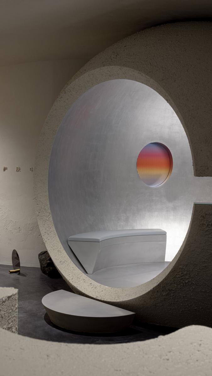 Futuristische Kapsel. Foto: Shao Feng