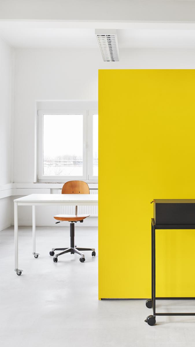 Das Concept Office bedeutet Work in Progress. Foto: Max Feldhoff