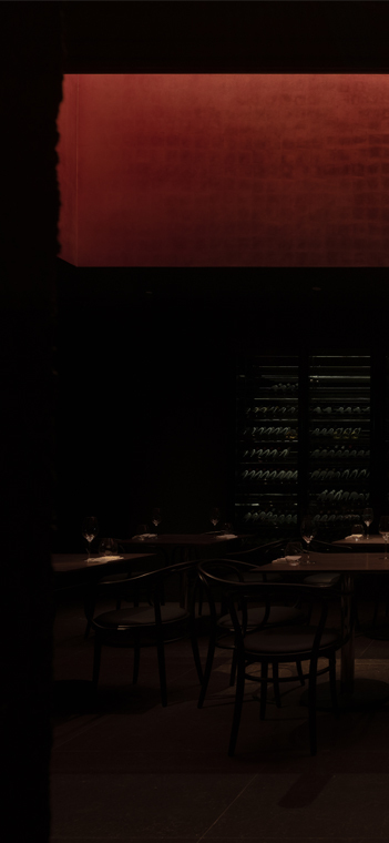 Experimentelles Licht von oben. Foto: Shao Feng