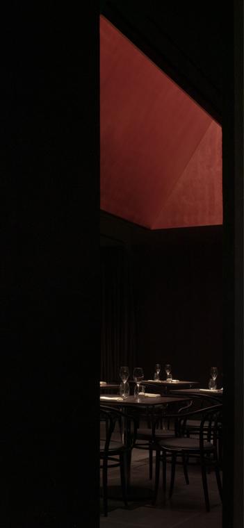 Restaurantbereich. Foto: Shao Feng