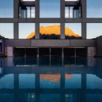 Saunalandschaft, Noa, Mohr Life Resort, Pool, Struktur, Geometrie