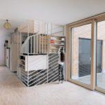 IFUB*, Hausfuchs, zentrales Element, Innenraumgestaltung, Treppenanlage