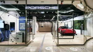 Pop-up-Store für Porsche