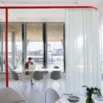 Gestaltungskonzept, free now, transparente Materialien, Stoffe