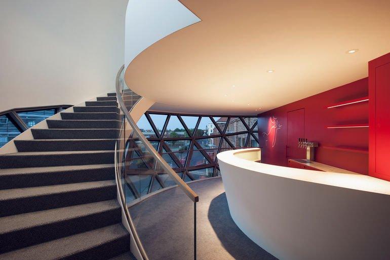 Spitzbart Treppe