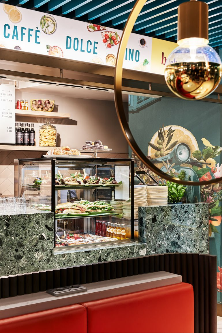 Belvedere, Wilhelma, Interior, Ippolito Fleitz, Innenarchitektur, Cafe, Bistro, Hospitality, Zoo, Bewirtung