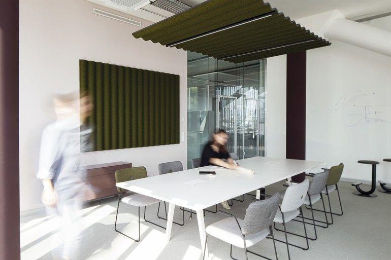 Gestaltungskonzept, free now, meeting-Raum