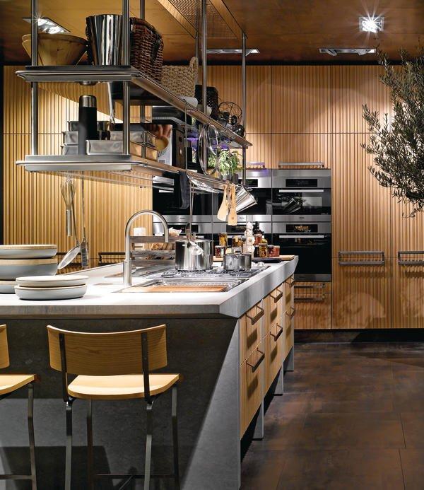 Decken hängeregal küche  Küche mit Profil - md-mag