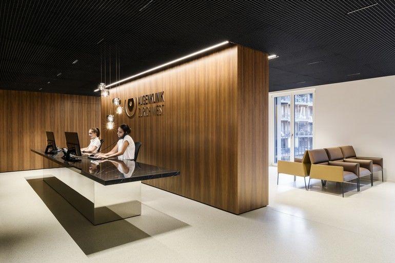 Michels Architekturbüro, Innenausbau Augenklinik Zürich