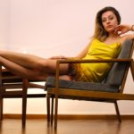Goldenes Kleid aus Algen