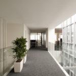 Lichthof versorgt den Innenraum mit Tageslicht, Studio Bocchi