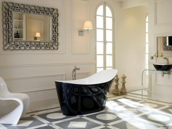Black and White fürs Badezimmer - md-mag
