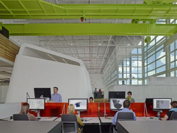Steelcase er ffnet 39 innovation center 39 kreativit t - Interior design jobs grand rapids mi ...
