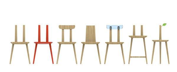 Handarbeit meets Hightech. 'Tabu', hergestellt aus FSC-zertifiziertem Holz. Des. Eugeni Qitllet www.aliasdesign.it