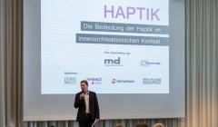 Haptik-Event der Materialplattform von md + raumprobe. Foto: René Müller