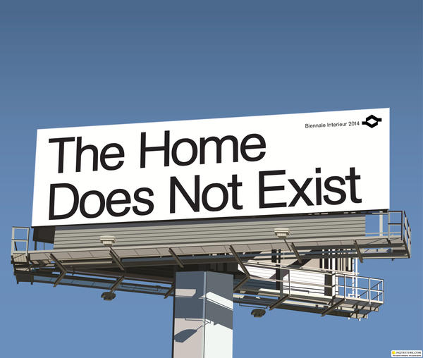 Ausstellungsparcours Und Speakers Corner The Home Does Not Exist Md Mag