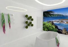 Ausgezeichnetes Badezimmer-Konzept 'Elastigenic' aus dem vergangenen Jahr von Petr Strejcek, Czech Technical University, Faculty of Architecture. Rendering: Petr Strejcek