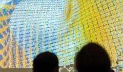 Textilien machen Lust auf mehr – wenn man sie richtig inszeniert. md Event Round Table of Textile 2014, Foto: René Müller, Stuttgart