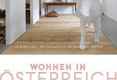 Das Cover von 'Wohnen in Österreich' lässt bereits vermuten, dass es hier keine 08/15-Wohnsituationen zu sehen gibt. Stall im Montafon. Foto: Alexander Haiden, DVA 2014