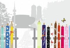 Der Münchner Stoff Frühling hat sich zur Aufgabe gestellt, das Bewusstsein für hochwertige Einrichtungsstoffe zu stärken. Grafik: Münchner Stoff Frühling