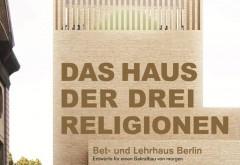 'Das Haus der drei Religionen' zeigt die Entstehungsgeschichte von der Idee über Entwurf und den Beweggründen der Initiatoren für ein solches Projekt. Grafik: Kuehn Malvezzi