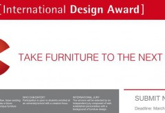 Motto des zum 10. Mal ausgelobten Internationalen Design Awards (IDA) ist in diesem Jahr: 'Take Furniture to the next level'. Grafik: Rehau