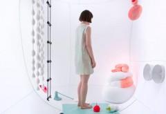 Installation 'Bioplastic Fantastic' für Logotel. Logotel vereint die Arbeiten unterschiedlicher Designer. Prototypen, Produkte und Dienstleistungen zeigen eine Neuinterpretation der 'NEED's. Foto: Johanna Schmeer