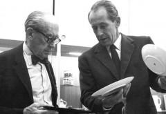 Walter Gropius und Philip Rosenthal (von links nach rechts), Foto: Rosenthal GmbH