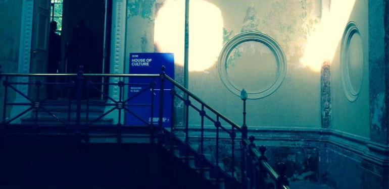 Icon's House of Culture, Star der temporären Locations. Das Old House of Sessions aus dem 18. Jahrhundert war 2015 zum ersten Mal für die Clerkenwell Design Week geöffnet. Foto: Susanne Tamborini.