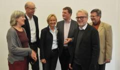 Die Jury des Lichtdesign-Preises. Foto: H. Dieter Kuhn
