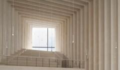Den Deutschen Architekturpreis 2015 erhielt das Berliner Architekturbüro Sauerbruch Hutton für die Immanuelkirche und das Gemeindezentrum in Köln. Foto: Annette Kisling
