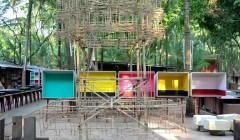 Atelier Studio Mumbai, Alibag, Indien, 2013. Foto: Michel Jacques für arc en rêve