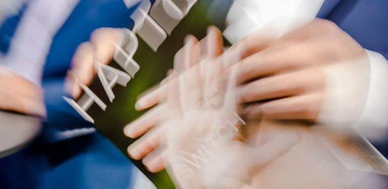 Die vierte Fachveranstaltung der Materialprobe (einer Kooperation von md und raumprobe) zum Thema Haptik im innenarchitektonischen Kontext im Stuttgarter Haus der Architekten fand großen Anklang. Foto: René Müller