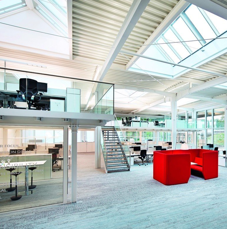 Loft Buro In Lagerhalle Md Mag