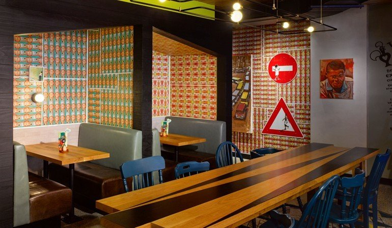 South African Style Nando's Von Designagency Mdmag Classy Interior Design Maryland Style