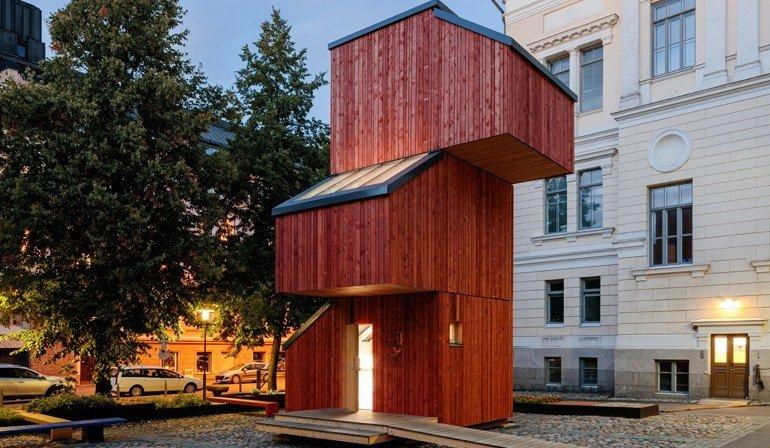 wohncontainer f r fl chtlinge m ssen nicht wie wohncontainer aussehen kokoon beweist das. Black Bedroom Furniture Sets. Home Design Ideas