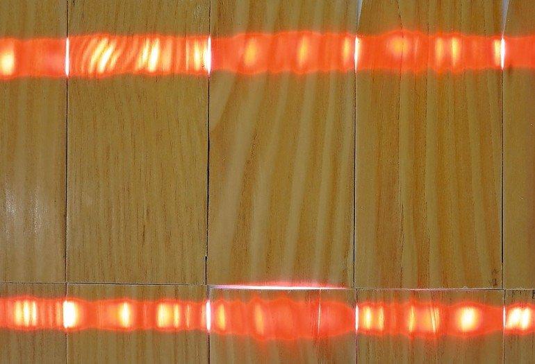 Transparentes Holz