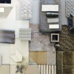 Sustainability, Materialcollage, Innenraumgestaltung