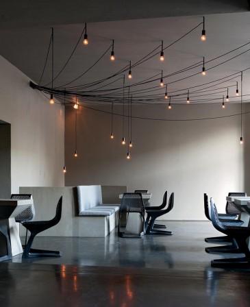 Tintin bar und restaurant von karhard architektur design for Innenraumdesign studium