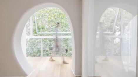 organische Formen bei Fenstern