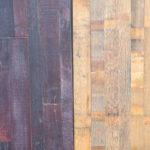 Holzfußboden, recycelt, Fassparkett
