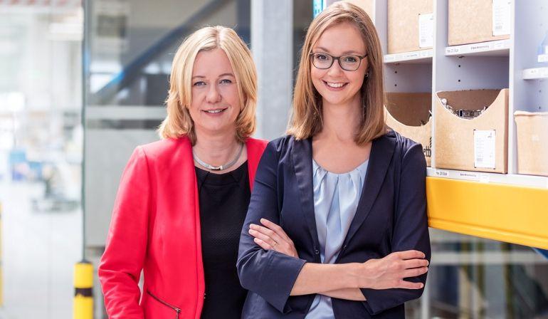 Nicole Eggert (links) und Julianne Utz-Preußing