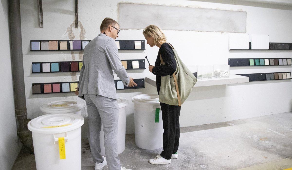 Einblicke in die Bette-Fertigung während der Architektenreise Manufaktour