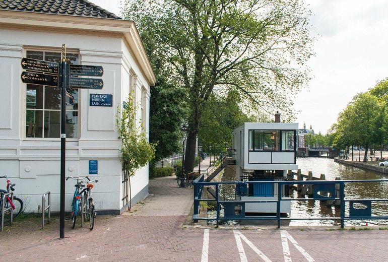 Mini-Hotel, Brückenwärterhäuschen, Grohe, Amsterdam