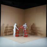 Produktidee- und Umsetzung von Alice Klarwein in der 'Ausstellung 'Workspace in Progress'.