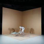 Produktidee- und Umsetzung von Kerstin Pfleger in der 'Ausstellung 'Workspace in Progress'.