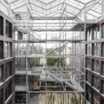 Transparentes Gebäude in Oberhausen