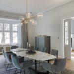 Esszimmer, Gründerzeitvilla, Einfamilienhaus, Blocher Partners